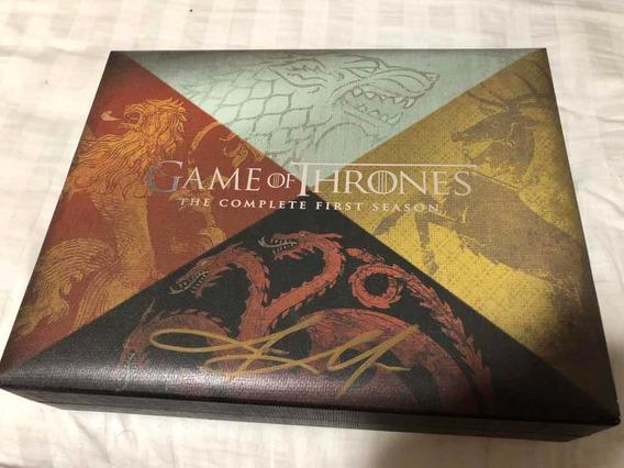 Jason Momoa Autografada Game Of Thrones S1 Edição Limitada