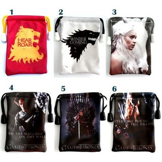 Bolsitas Para Celular De Game Of Thrones Stark Lannister