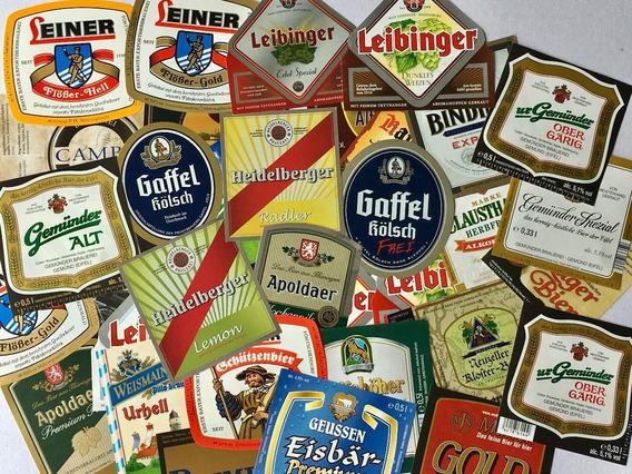 Alemanha - 50 Rótulos Originais Cerveja