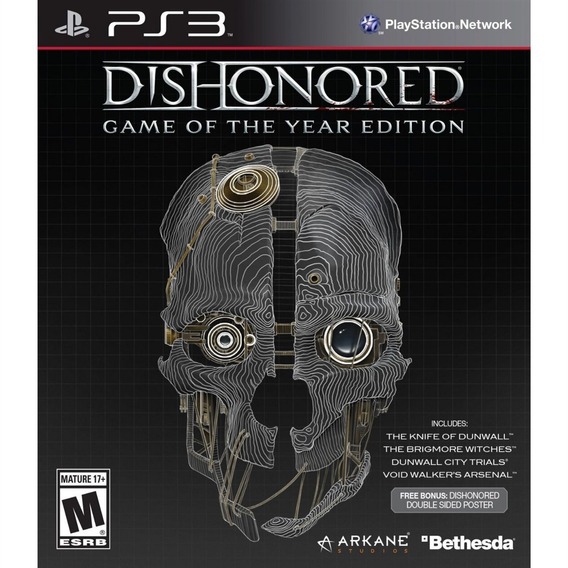 Dishonored Game Of The Year Edition Ps3 Mídia Física