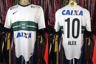 Coritiba 2014 Camisa Titular Tamanho G Número 10 Alex.