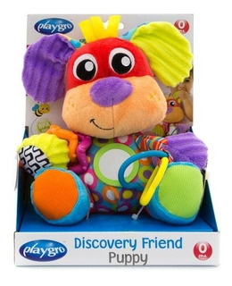 Peluche Bebé Discovery Friend Puppy Mordillo Playgro