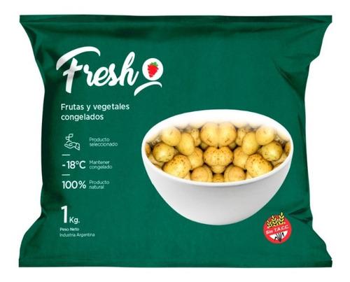Papines Congelados Iqf Fresh X 1kg