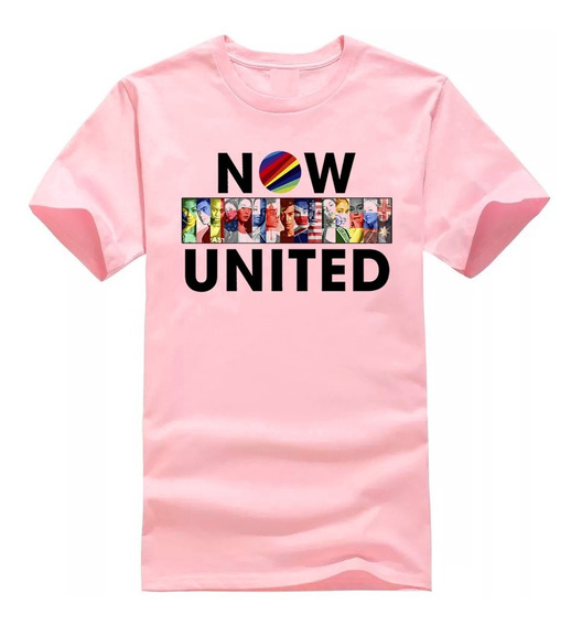 Camiseta Now United Pop