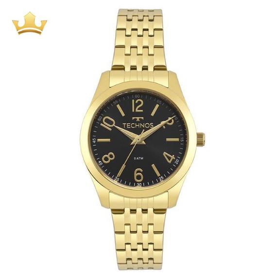 Relógio Feminino Technos 2035mpd/4p C/ Garantia E Nf Full