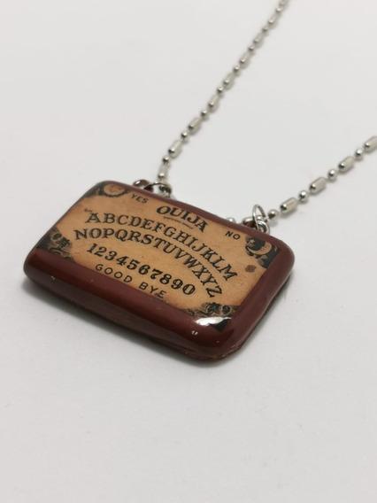 Collar Dije Ouija Tablero Terror Dark Gótico Envío Gratis