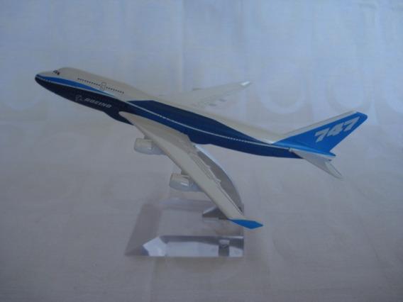 Boeing 747 Avião Miniatura
