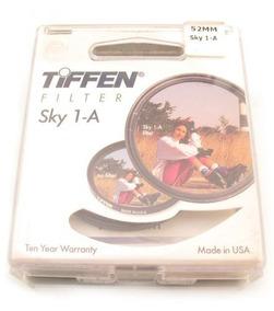 Filtro Para Camera Fotografica 52mm Tiffen Sky 1a A2919