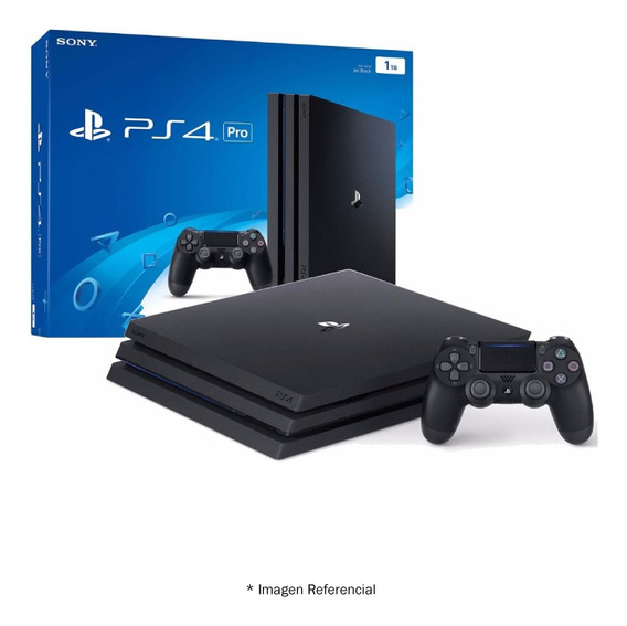 Play Station 4 Ps4 Pro 1tb Con Tecnologia 4k