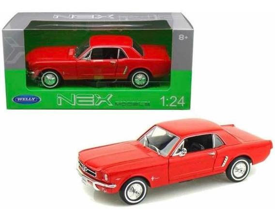 Auto De Colección Ford Mustang 1/24 Welly