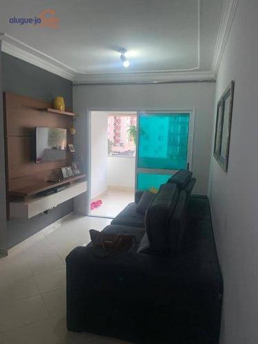 Apartamento À Venda, 87 M² Por R$ 530.000,00 - Jardim Aquarius - São José Dos Campos/sp - Ap10776