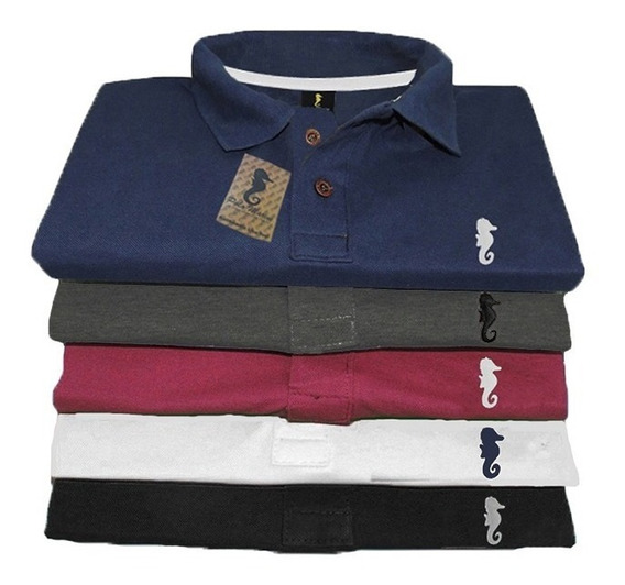 Kit 3 Camisa Gola Polo Tamanho Grande Plus Size Até G1 G2 G3