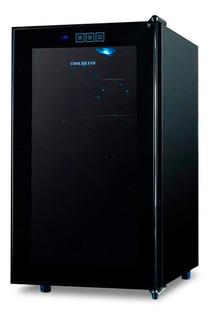 Cava Coolbrand JC-48G Black para 18 botellas 220V negra