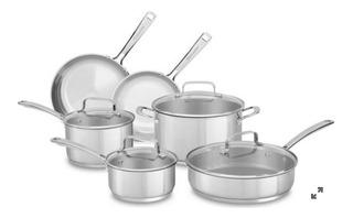 Bateria De Cocina Kitchen Aid 10 Piezas