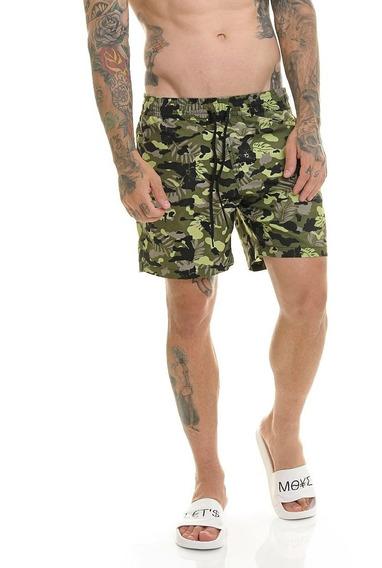 Bermuda Shorts Premium Praia Passeio Água Top Slim Offert