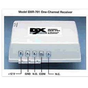 Dxr-701 É Um Receptor Digital Com Uma Saída De Relé Isolada