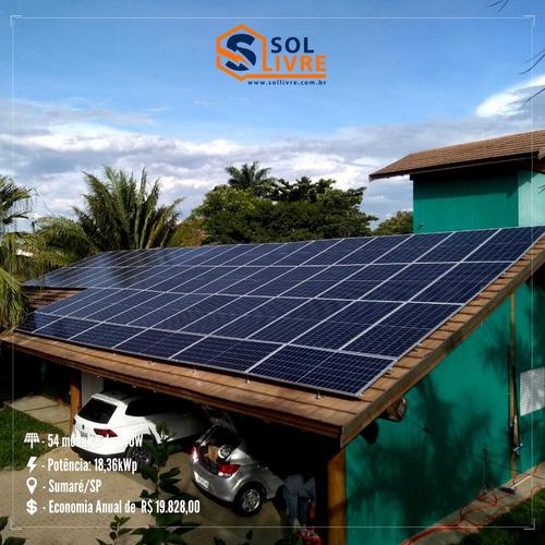 95% Economia Com Energia Solar, Na Sua Conta De Luz.