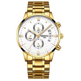 Relógio Nibosi 2309-1-2 Original 100% Funcional