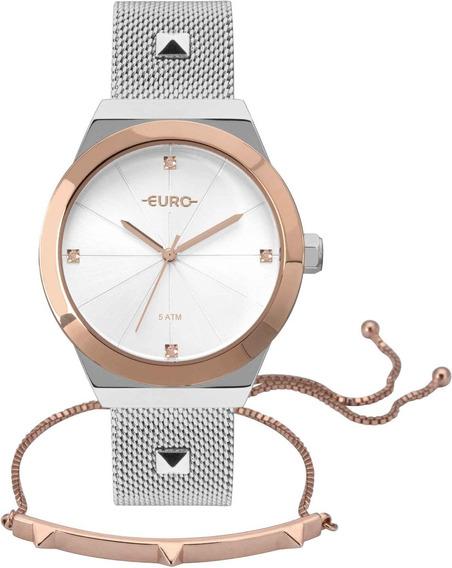 Relógio Euro Feminino Spike Glow Eu2035yri/k5k