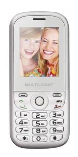Multilaser Up Dual SIM 32 MB Branco/Rosa 32 MB RAM