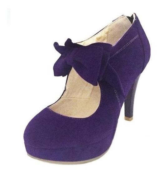 Sapato Feminino Karin Luna 11107 Importado Frete Grátis