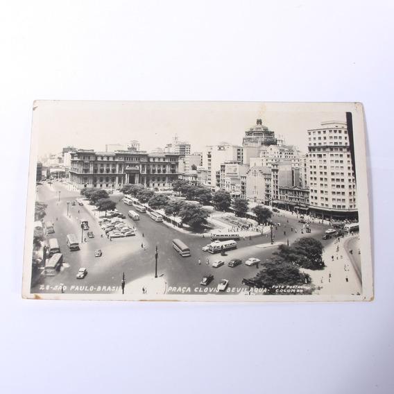 Cartão Postal Praça Clovis Bevilaqua - São Paulo