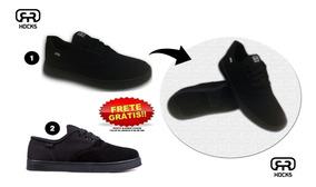 Tênis Hocks Sonora Skate Black Preto Original Unissex