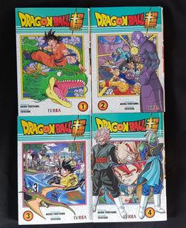 Dragon Ball Super - Numeros 1,2,3,4 - Akira Toriyama - Ivrea