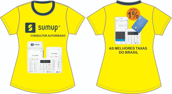 Camisa Consultor Autorizado Sumup Amarela