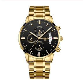 Relógio Masculino Nibosi Luxo Maximo Original Analógico 2135