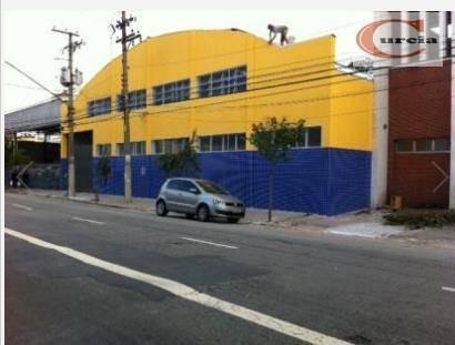 Galpão Industrial À Venda, Cambuci, São Paulo. - Ga0009