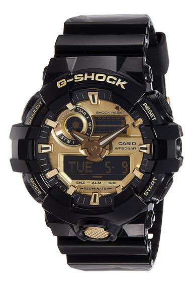 Reloj G-shock Hombre Negro Ga-710gb-1adr