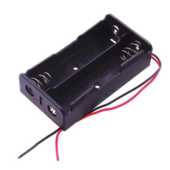 Case Suporte Para Bateria 18650 Para 2 Baterias