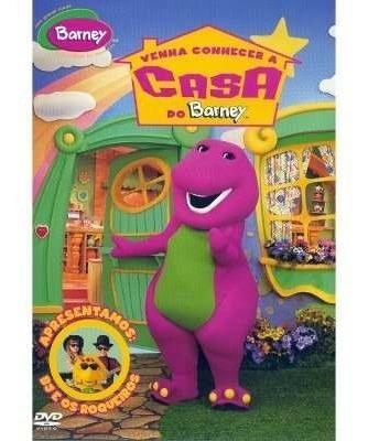 Dvd Barney Venha Conhecer A Casa Do Barney