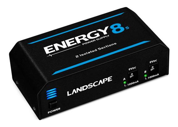 Fonte Pedal Landscape Energy 8s Para 10 Pedais 2000ma 9v