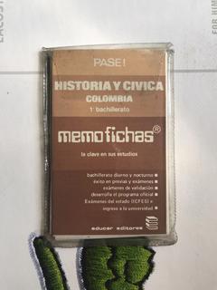 Memofichas Historia 1 Bachiller 1984 Usada