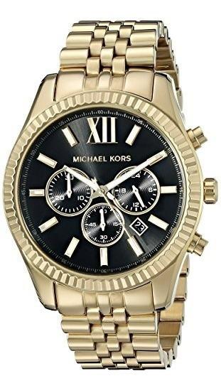 Michael Kors Lexington Mk8286 - Reloj De Pulsera Para Hombr