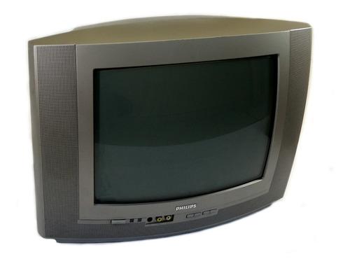 Tv  Philips Tubo 14 Polegadas - Usada
