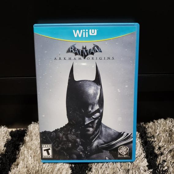 Batman Arkham Origins Nintendo Wii U