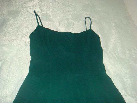 Vestido Verde De Fiesta. Importado