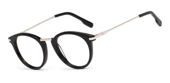 Armação Oculos Ogrife Og 756-m Feminino Com Lente Sem Grau