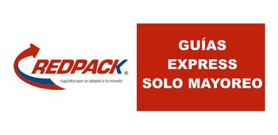 Guias Redpak 1 Kilo Express En 135 Mayoreo Son Guias Físicas