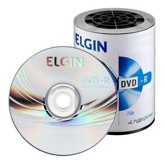 04 Cx De Midia Dvd Elgin Logo 16x Total 2400 Midias
