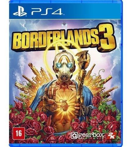 Borderlands 3 Ps4 Jogo Novo Lacrado Mídia Física