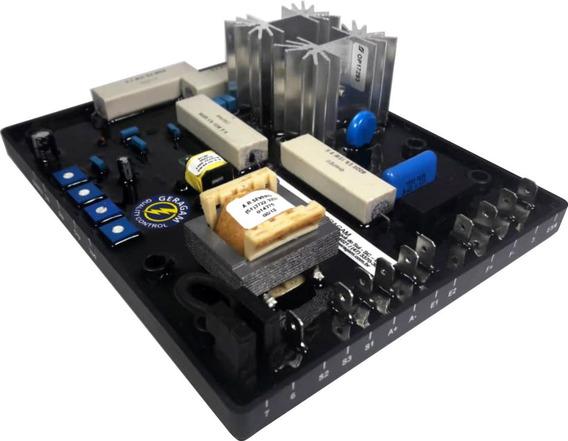 Regulador De Tensão Avr Excitatriz Grt7 Th4e 5a Weg Gerador