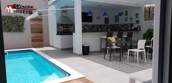 Casa A Venda Em Peruibe, Sobrado Com Piscina Lado Praia Em Peruibe, - Ca01104 - 34204363