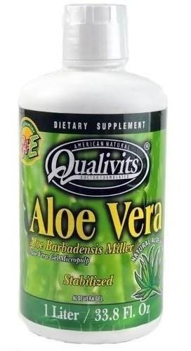 Aloe Vera Gel Qualivits 1 Litro