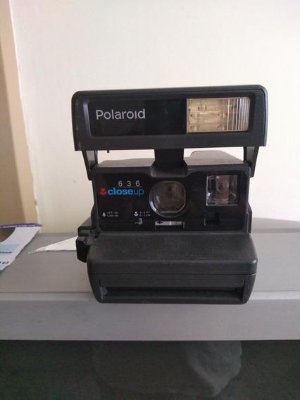 Item De Colecionador Câmera Fotográfica Polaroid 636