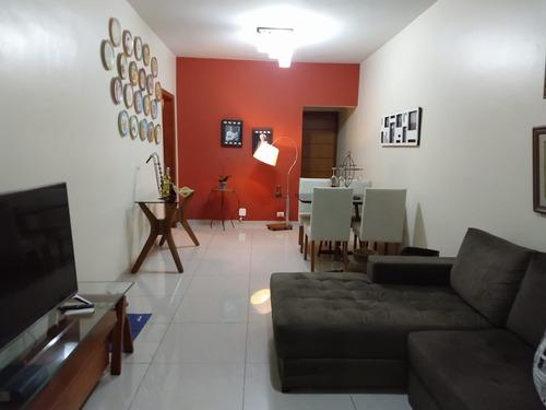 Imagem 1 de 30 de Excelente Apartamento Em Botafogo Com 2 Quartos (sendo 1 Suíte) E Sala Com Acesso À Varanda. - 1800