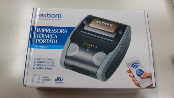Mini Impressora Térmica Portátil E Compacta Com Bateria